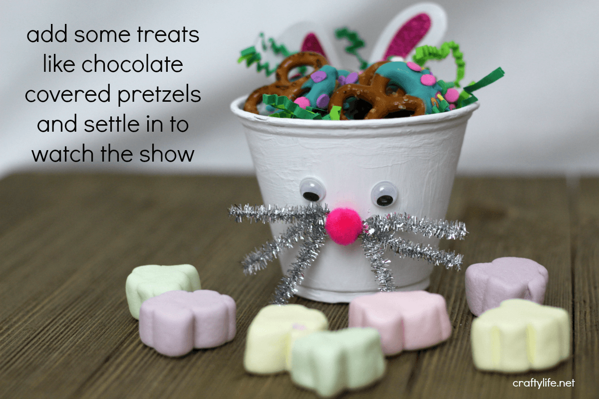 This adorable Bunny Snack Cup Kids Craft has already hopped its way into our hearts. Inspired by the show Tumble Leaf's Spring-a-ling!