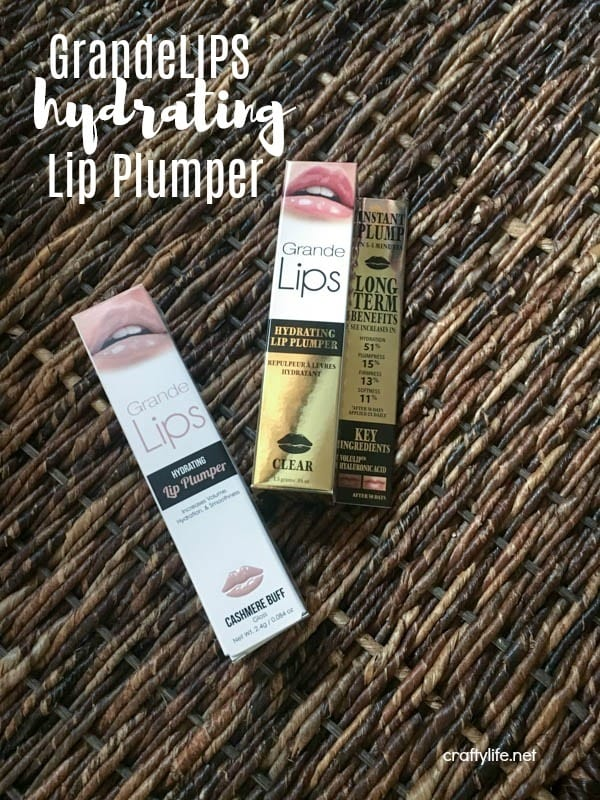 I have a really casual style, but I like to add a little glam to my day to day makeup routine, like a hydrating lip plumper, to appease my girlie side.
