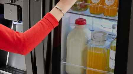 Why you need LG's Instaview™ Refrigerator in your life.