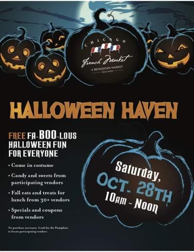 Halloween events in chicago - Halloween Haven