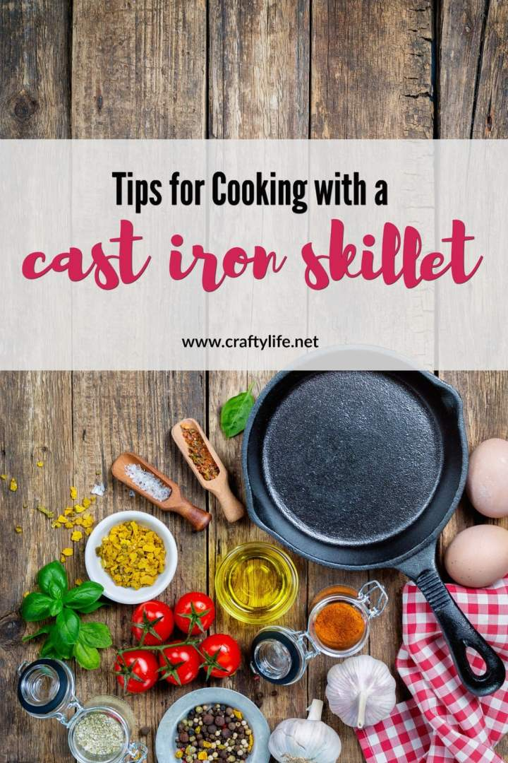 Cooking with a cast iron skillet may seem intimidating to those who have never used one. I wanted to share some tips to help make this transition easier.