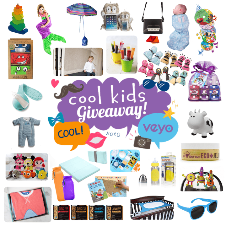 We teamed up with 28 other cool kids brands to bring you the Cool Kids Giveaway!