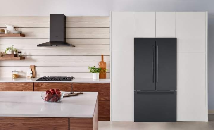 Bosch Counter Depth Refrigerator in black