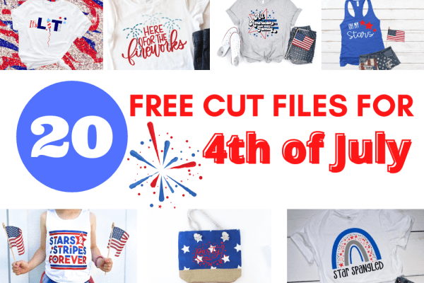 Find 20+ Patriotic SVG Files to Create Gifts for the Memorial Day, 4th of July, and any Americana holiday using your Cricut or Silhouette cutting machine.These SVG project ideas are great for shirts and are easy and simple to re-create.
