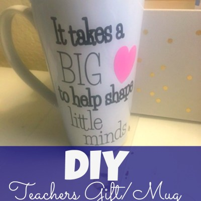 DIY Glitter Mugs
