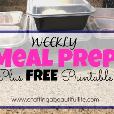 Weekly Meal Prep