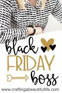 Black Friday Plan Printable