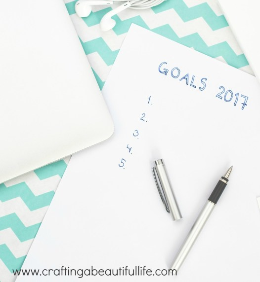 New Year New you Goals for 2017 and plans to implement changes to how we plan our lives including health and fitness.