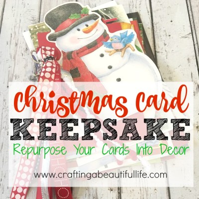 Christmas Cards Keepsake