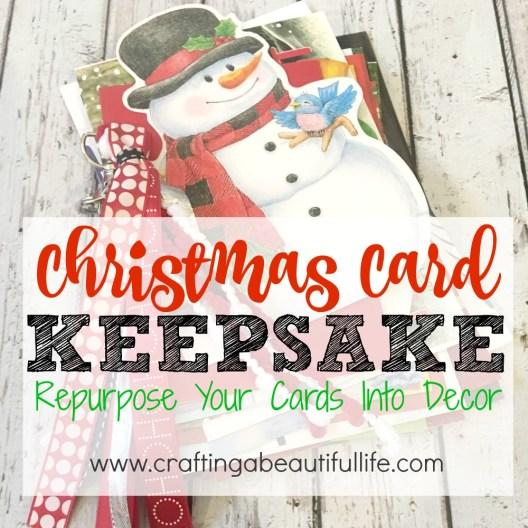 Christmas Card Keepsake