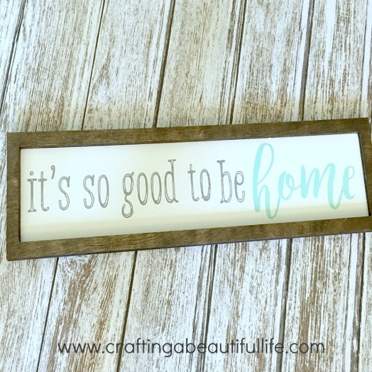 Farmhouse decor DIY sign