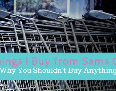5 Things I Buy from Sam's Club
