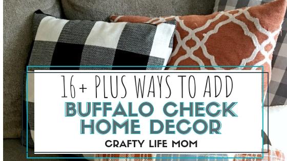 Buffalo Check Home Decor Farmhouse Decor For Any Season