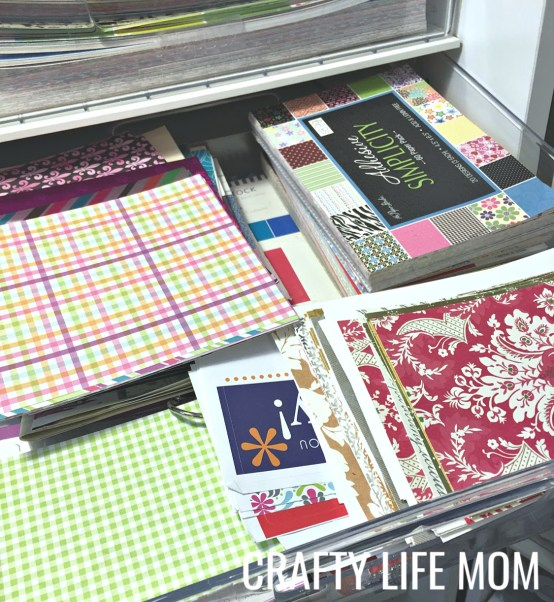 Crafty Life Mom Craft Room Tour including How I use my Original Scapbox Workbox and Studio Tower from the Original Scarpbox Company. Get organization and tips for all of your craft room supplies.