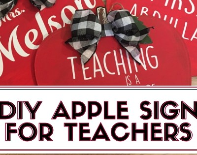 DIY Apple Sign