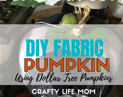 DIY Fabric Pumpkin