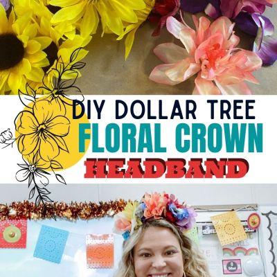 DIY Dollar Tree Floral Headband