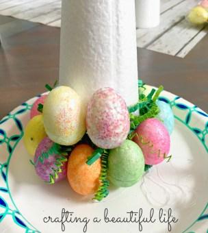Easter Egg Tree Beginning Base