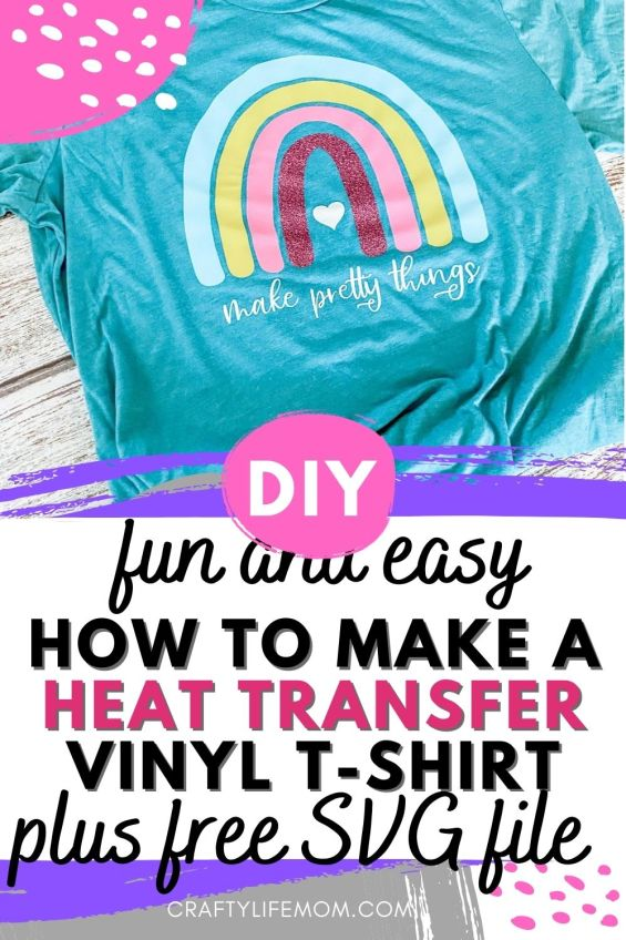 Make easy Heat Transfer Vinyl shirts with Stalhs Ultra week and Glitter Flake vinyl with your Silhouette Cameo or Cricut. This is a simple project for beginners and I walk you through the process step by step. People buy cutting machines to learn how to make t-shirts. #heatransfer #vinyl #t-shirt