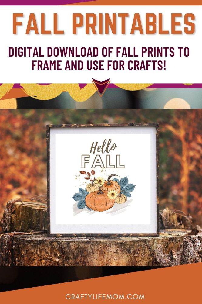 Create cute and trendy home decor using this Fall Printable Decor pack. The possibilities are limitless. You can frame them and even add to them to make them your own unique piece of decor for your home.