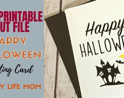Halloween Craft Rae Dunn Inspired Card