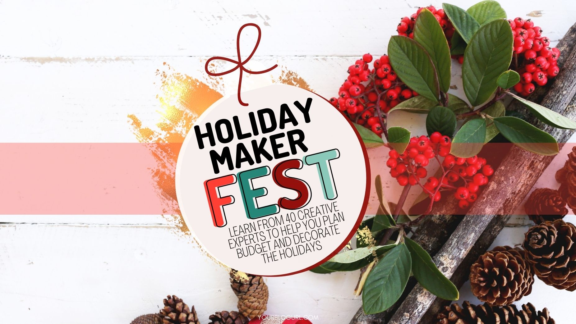 Learn from 40 plus Crafters and Creatives sharing tips to help you decorate, organize and budget the holidays!
