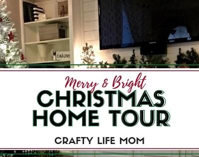 Merry & Bright Christmas Lights Home Tour