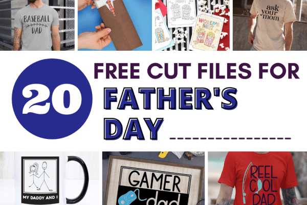 Create something special for dad this Father's Day using one of these 20 Father's Day SVG cut files.