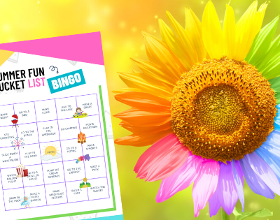 Summer Bucket List Bingo Printable