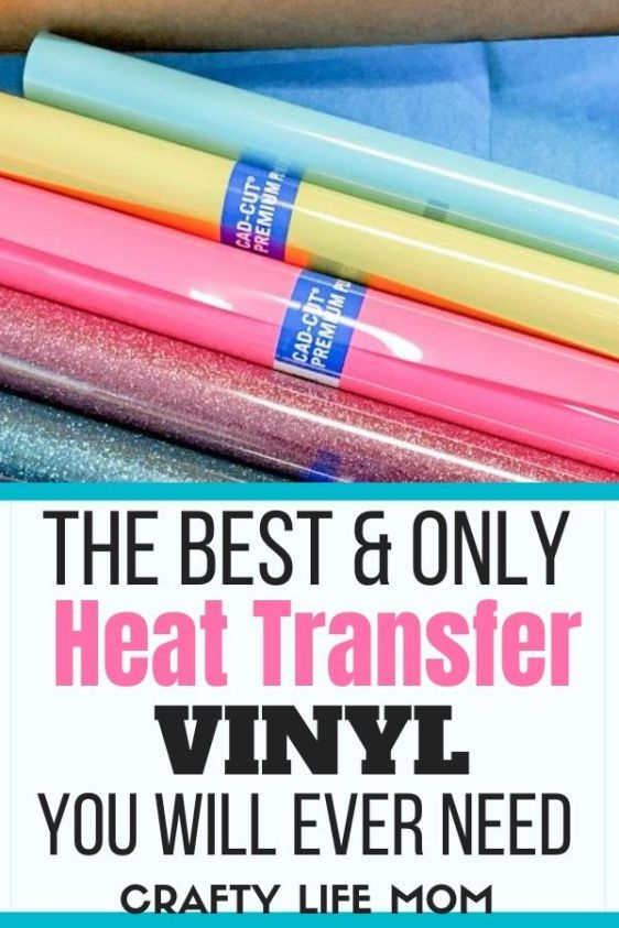 This is the best heat transfer vinyl I have ever used. The Stahls Ultra Weed heat transfer vinyl the go-to vinyl for making t-shirts.
