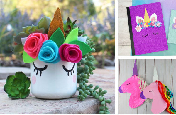 Unicorn Crafts and DIYs you can make