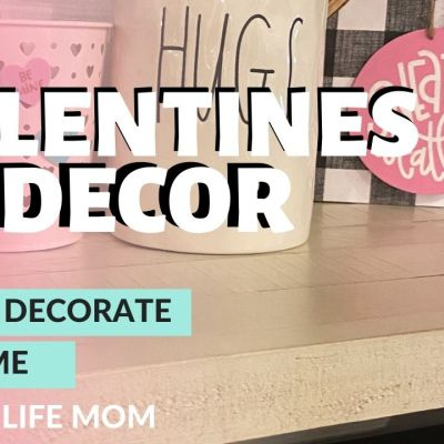 Valentine's Day Decor: Craft And Decorate With Me