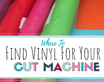 Where to Buy Vinyl for Your Craft Machine
