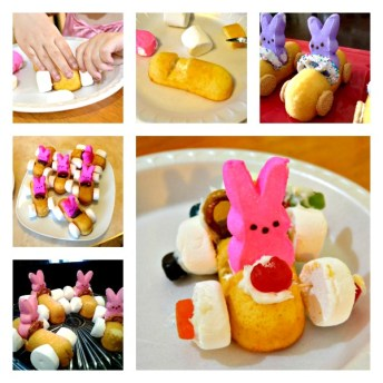 Easter Bunny Race Cars