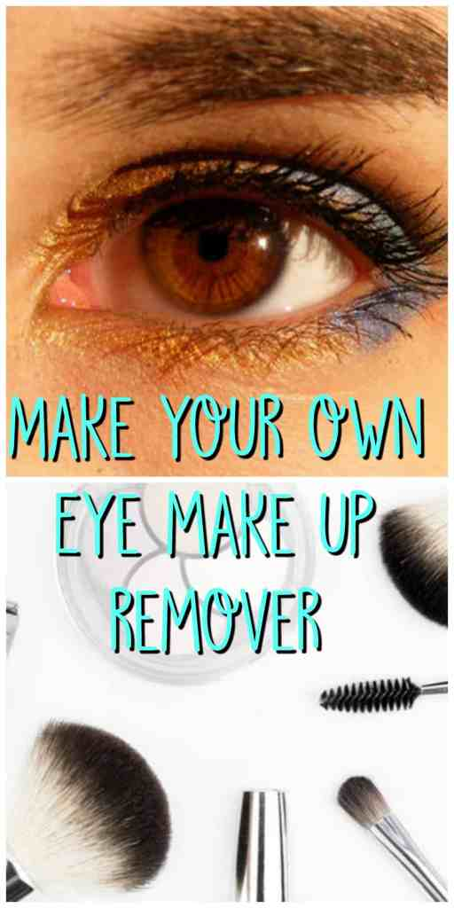 How to make your own eye makeup remover