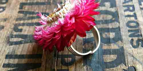 Strawflower Ring