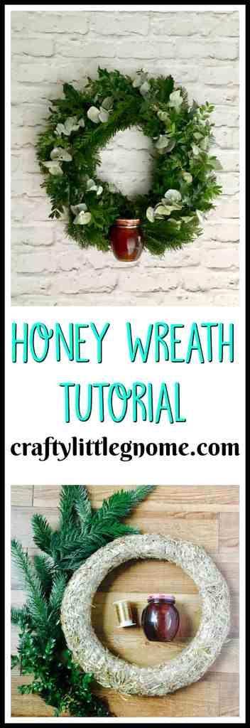 honeywreathtutorial
