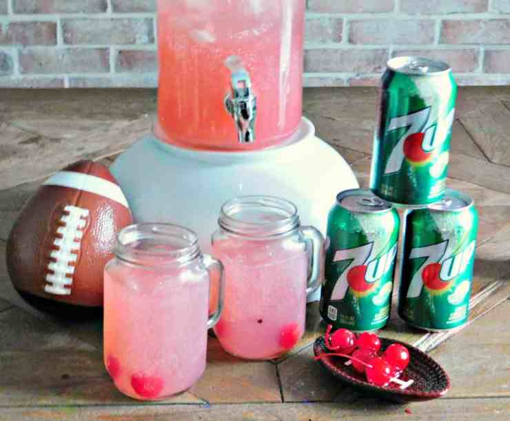 7UP Fruity Football Party Punch
