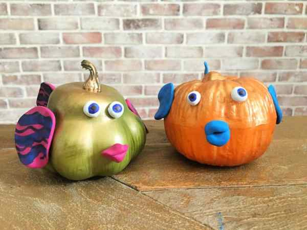SeaWorld Fish Pumpkin Craft Crafty Little Gnome mini
