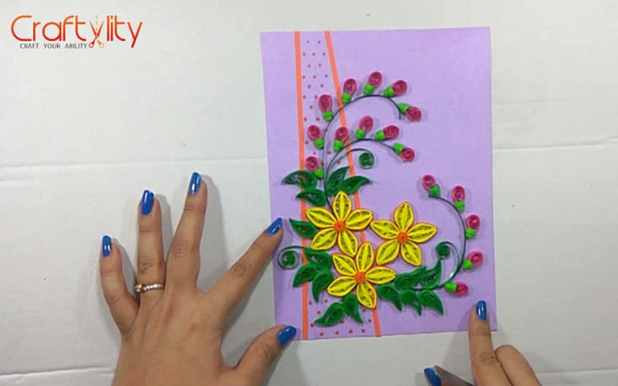 Paper Quilling Card