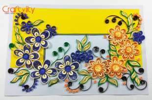 Paper Quilling cards - Craftylity