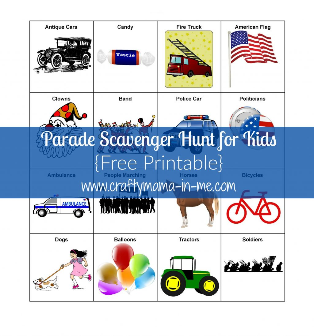 Fun Kids Scavenger Hunt Printable Might Be Fun To Try To Spot On A Car