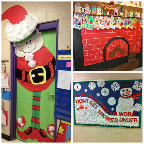 Decorating A Bulletin Board For Christmas ...