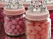 DIY Baby Food Jar Princess Crown Party Favors - Crafty Morning