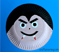 Paper Plate Vampire Craft for Kids - Crafty Morning