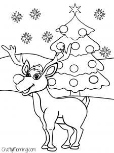 free printable christmas coloring