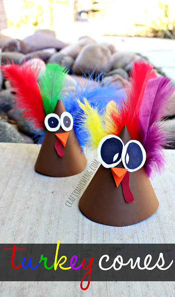 turkey-cone-craft-for-thanksgiving