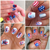 Patriotic 4th of July Nail Ideas - Crafty Morning
