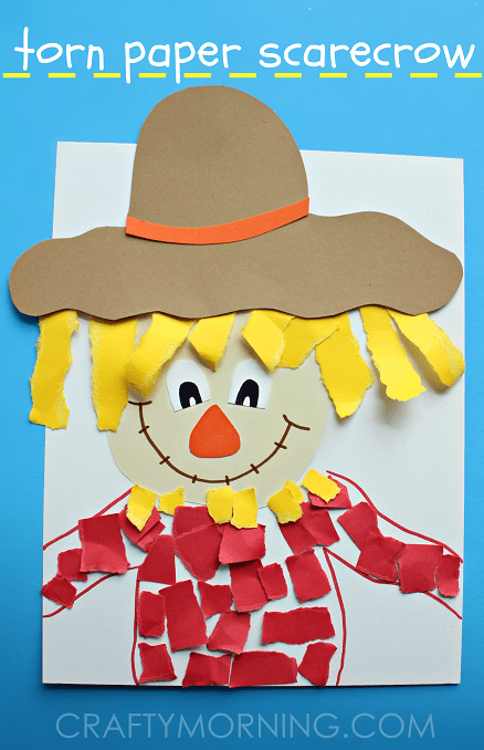 torn-paper-scarecrow-fall-kids-craft