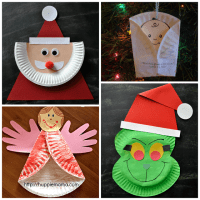 Christmas Arts And Crafts Using Paper Plates ...